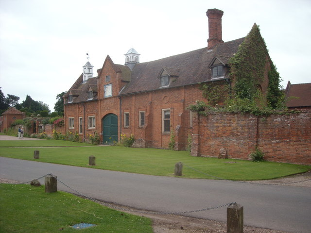 Outbuildings at Packwood House
