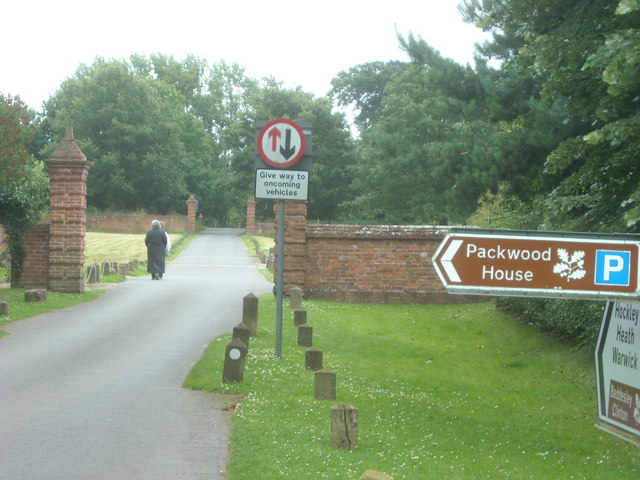 Directions to Packwood House