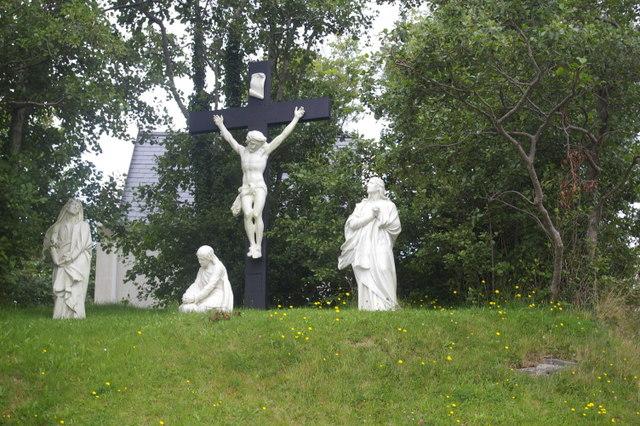 Calvary statues