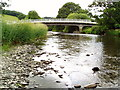 SN9985 : River Severn,Dolwen Bridge. by kevin skidmore