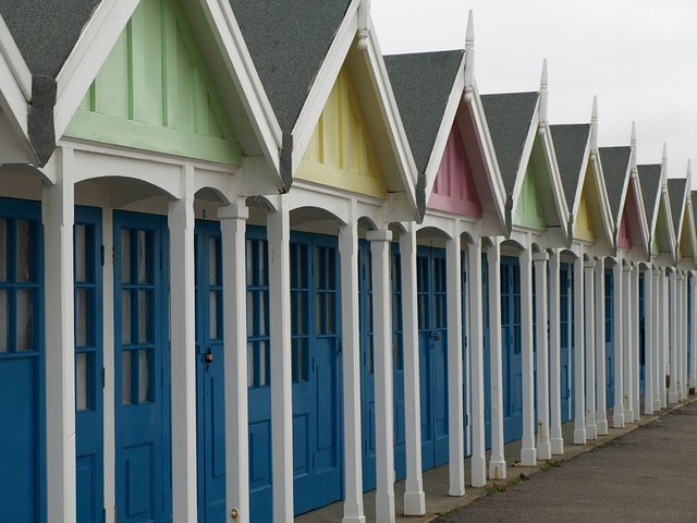 Beach Huts, Weymouth