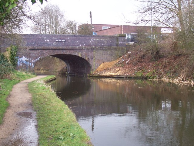 Middleton Bridge - Wyrley & Essington Canal, Anglesey Branch