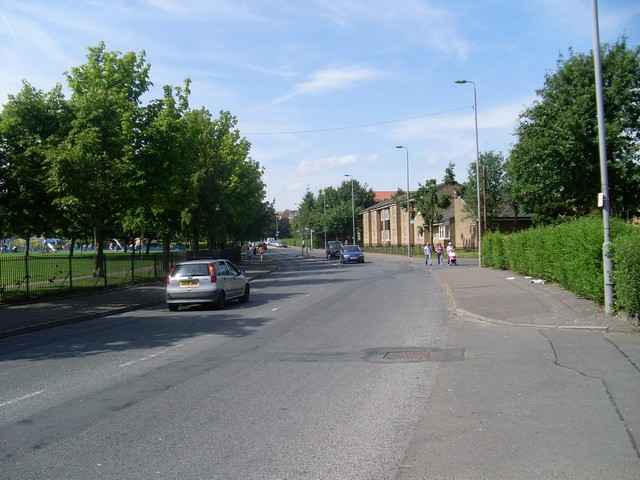 Kinfauns Drive, Drumchapel