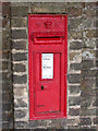TL3770 : VR post box near Over Church by Keith Edkins