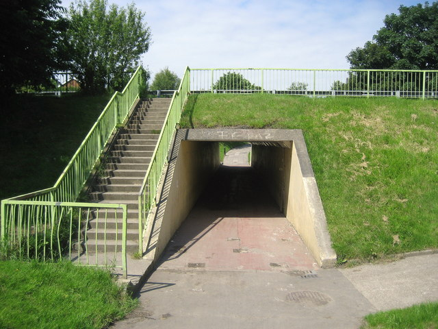 Subway under Monkseaton Drive