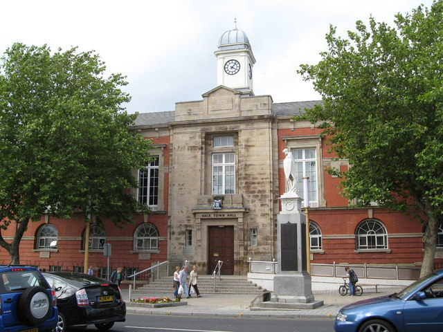 Sale Town Hall  - front aspect