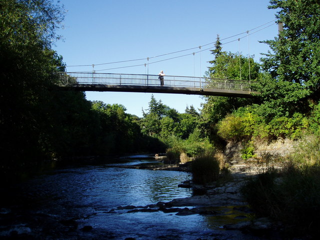River Severn, Dolerw footbridge