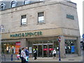 NT0987 : Marks and Spencer, Dunfermline by Ian Thomson
