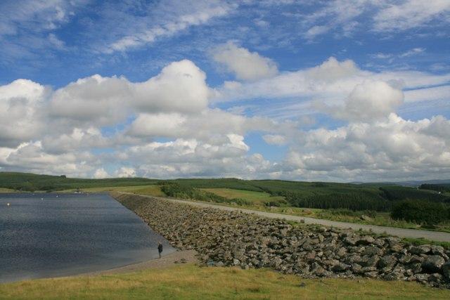 Llyn Brenig Dam