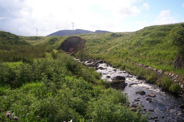 Erosion at River Brogaig