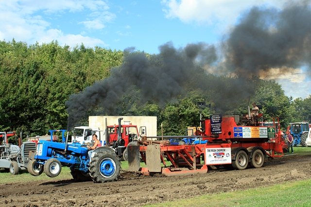Souped Up Tractor : Pulling a wheelie pickering steam fair david