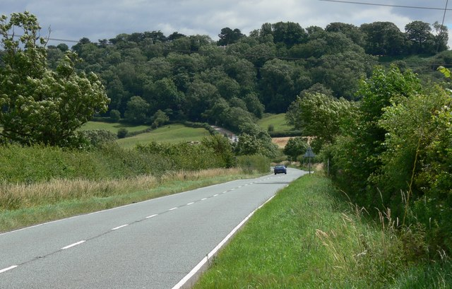 A606 Nottingham Road towards Broughton Hill