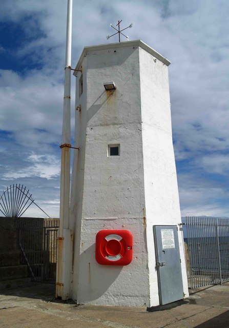 Seahouses lighthouse