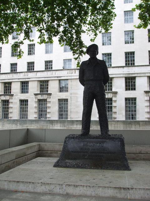Monty Statue, London