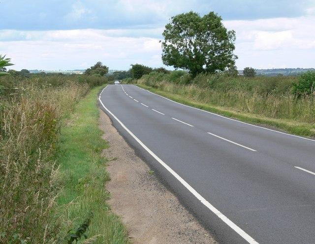 Road near Ab Kettleby