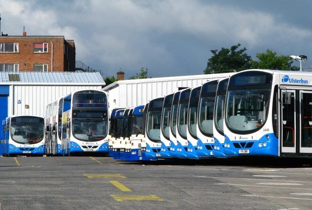 Buses, Bangor