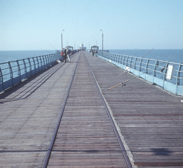Herne Bay pier in the 1960's