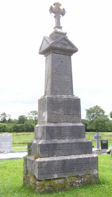 O'Kane Memorial in St Patrick's Church near Ballyconnell