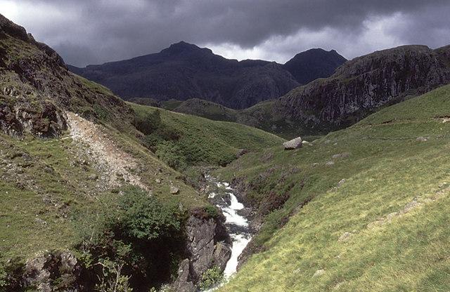 Upper Esk falls
