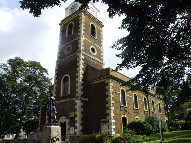Gravesend church
