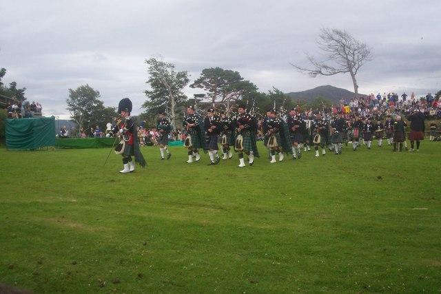 Skye Highland Games,The Lump