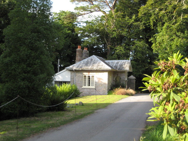 Entrance lodge to Greenway House