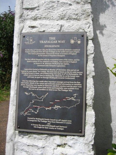 The Trafalgar Way
