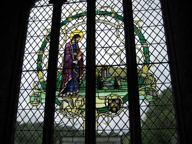 Window in St Andrew's Church Moretonhampstead
