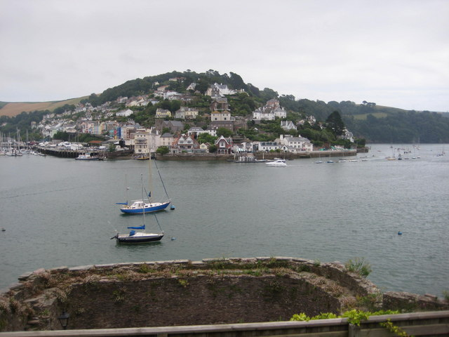 Kingswear from Dartmouth (from the Battery)