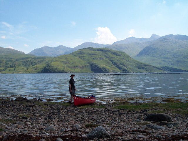 Loch Etive with Ben Cruachan in the distance