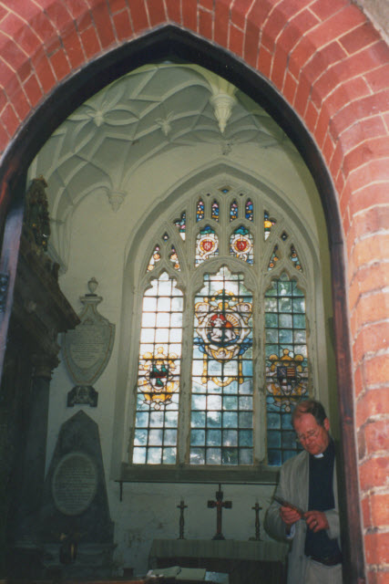 Interior of the Lumley Chapel