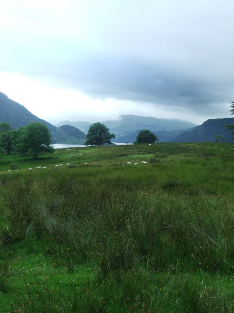 View from Aira Force Pathway, Ullswater