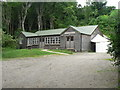 NM4784 : Isle of Eigg: community hall by Chris Downer