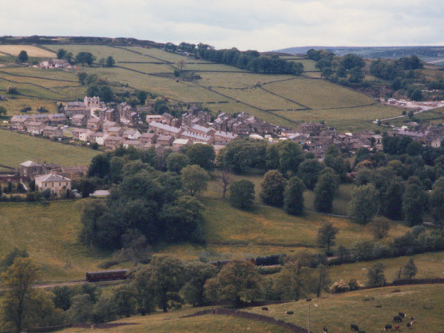 Modern housing at Haworth