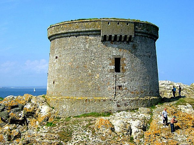 Martello Tower on Ireland Eye