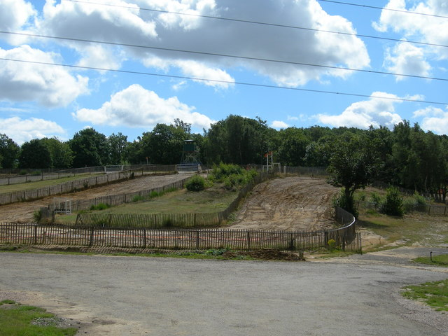 Motor Cross Circuit, near Farningham Woods