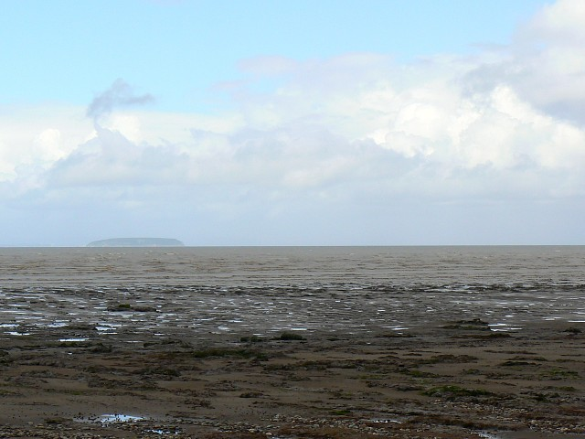 A view north from a beach near Steart