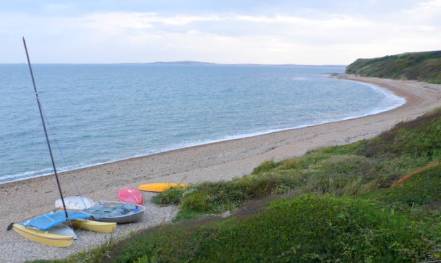 Beach west of Ringstead