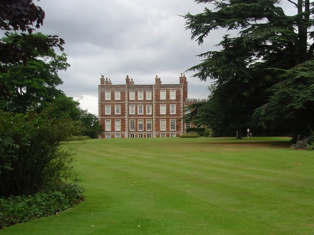 Gunby Hall rear elevation