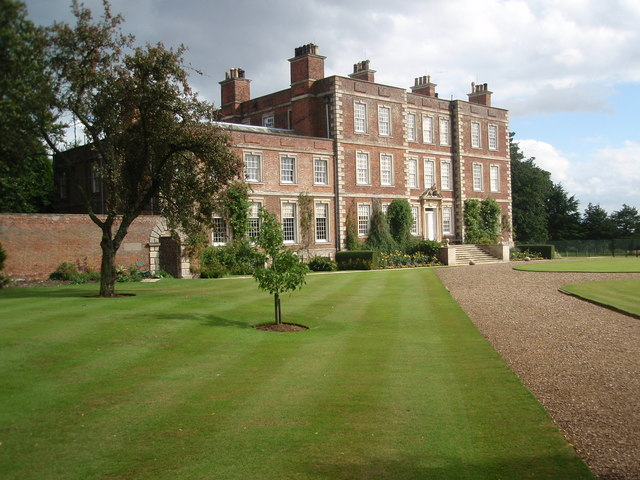 Gunby Hall Front