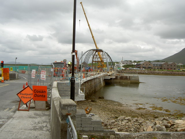 The Michael Davitt Bridge:: OS grid L7399 :: Geograph Ireland ...