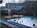 NT2573 : Open-air Skating in Princes Street Gardens by Sarah Charlesworth