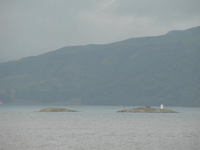 Glas Eileanan: small lighthouse