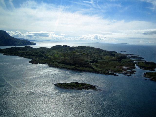 Eilean nan Ceann and Lunga