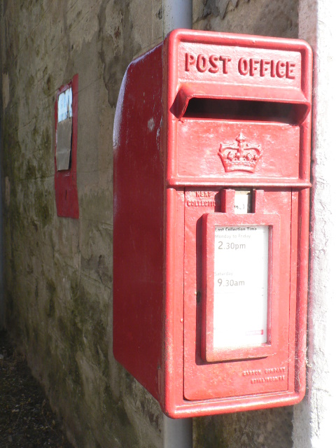 Tighnabruaich: old and new postboxes, &#8470; PA21 10