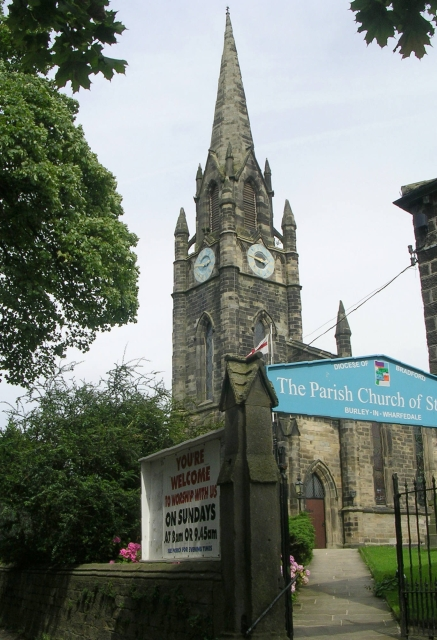 St Mary's Church - Main Street, Burley in Wharfedale