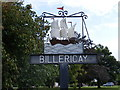 TQ6694 : Billericay Town Sign by Adrian Cable