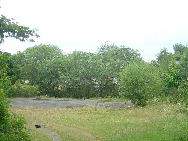 Llanymynech station yard