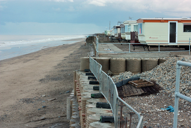 Sea defences, Ulrome