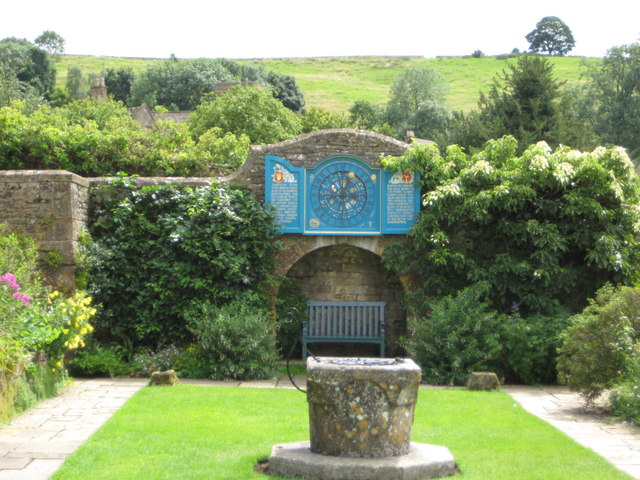 Sundial at Snowshill Manor